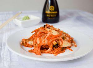 Kimchi från Korea.
