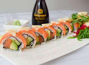 sushi lax gravid