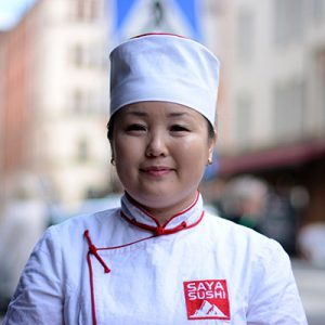 Saraa Sarangerel Saya Sushi