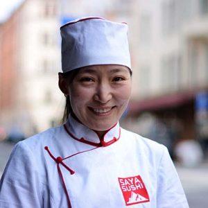 Tumenzaya Rydlund Saya Sushi
