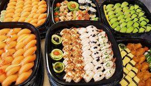 1000 bitar catering från Saya Sushi