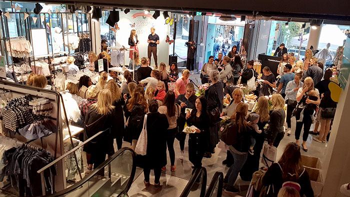 Lindex babyshower 2018 Stockholm. Sveriges största babyshower.