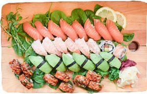 Familjesushi 30 bitar. Family sushi 30 pcs