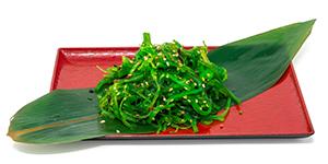 Sjögrassallad Seaweed salad