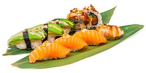 Lax avokado/avocado maki